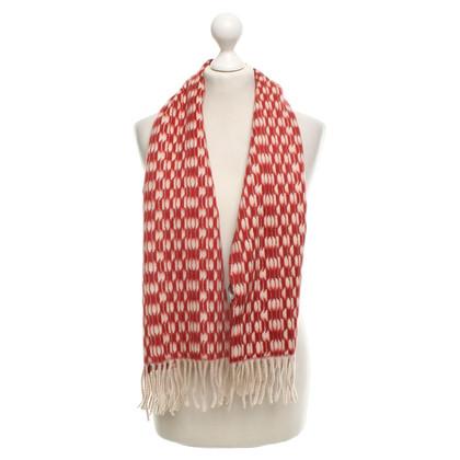 Bottega Veneta sciarpa di cachemire in bicolor