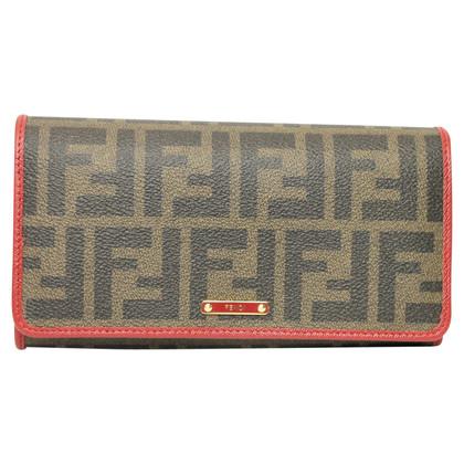 Fendi Portemonnaie mit Logo-Muster