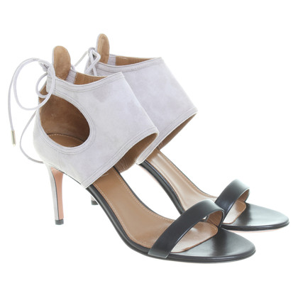 Aquazzura Sandals in black/taupe