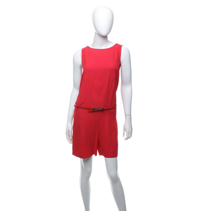 Patrizia Pepe Kurzer Overall in Rot