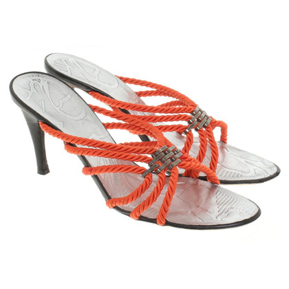 Armani Sandals in Bicolor