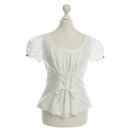 Moschino Cotton top white
