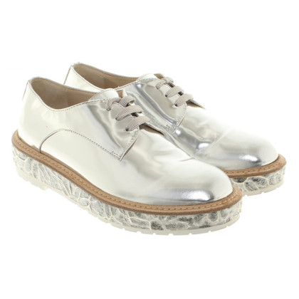 Other Designer AGL - Silver lace-up shoes