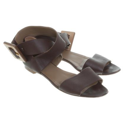 Hermès Sandals in Brown