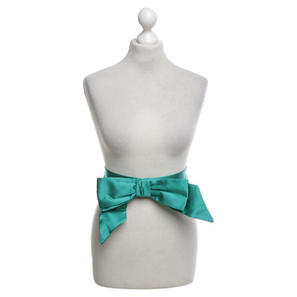 Tara Jarmon Waist belt in dark green