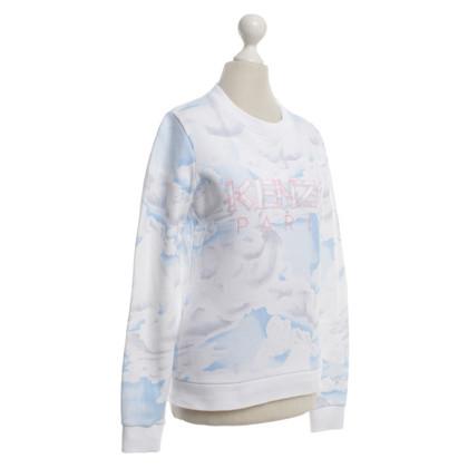 Kenzo Sweater with cloud print