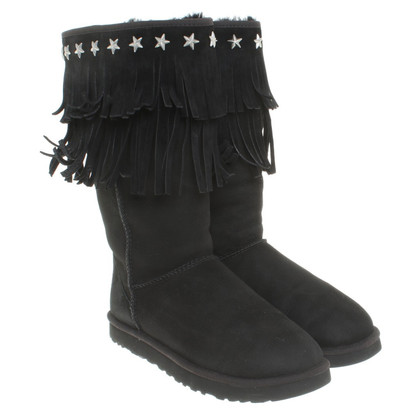 UGG & Jimmy Choo Boots in zwart