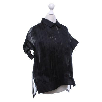 Jil Sander Silk blouse with pleats