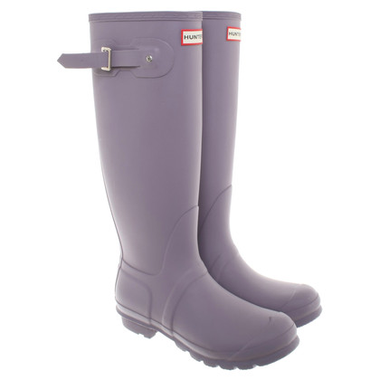 Hunter Gummistiefel in Taupe