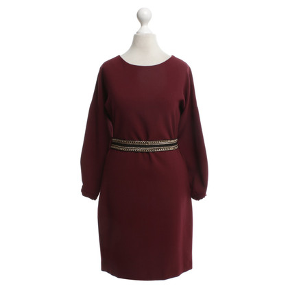 Sandro Dress in wine red