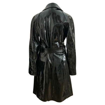 Prada Patent Leather Coat