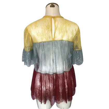 Philosophy di Lorenzo Serafini Kanten blouse