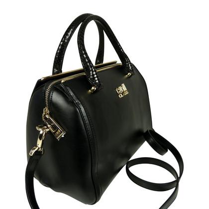 Roberto Cavalli Leather bag in black