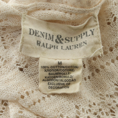 Strickjacke Lauren Ralph in Creme Strickjacke Ralph Lauren in Beige Beige tEZgxdwqdy