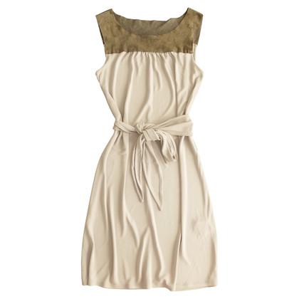 Max & Co Kleid aus Viskose und Wildleder