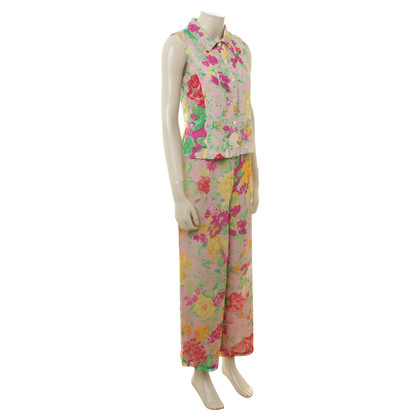 Kenzo Trouser suit with floral print