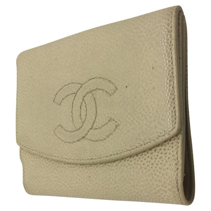 Chanel Small wallets in beige leather