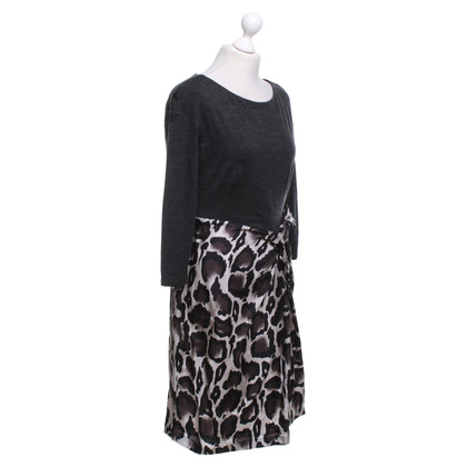 Paule Ka Dress with animal print