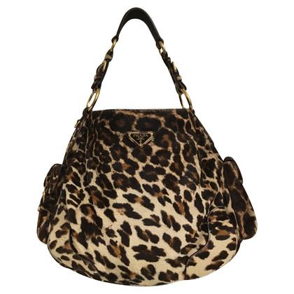 Prada Pelliccia borsa in stampa leopardo