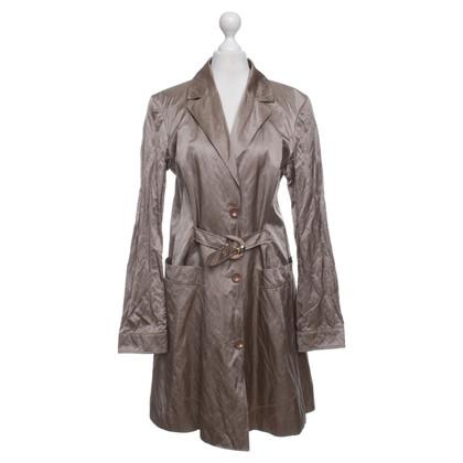 Versace Coat in Light Brown