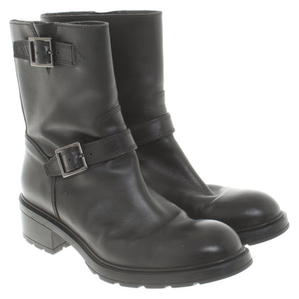 Hogan Biker boots in black