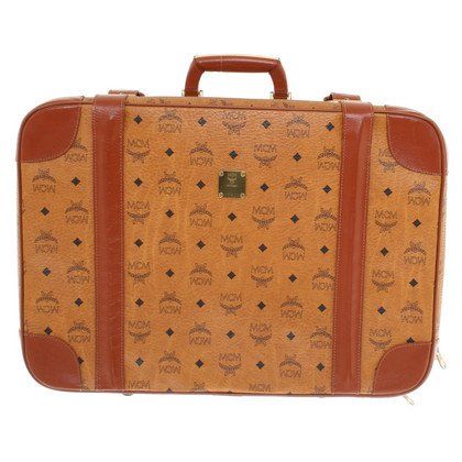 MCM rolling suitcase