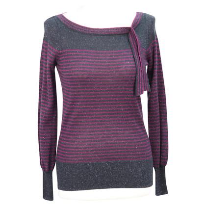 Reiss Striped wool sweater
