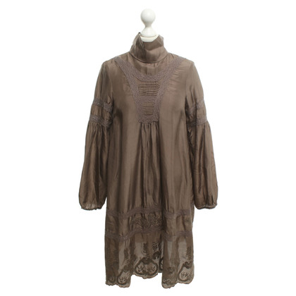 P.A.R.O.S.H. Dress in taupe