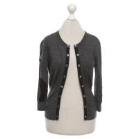 Karen Millen Strickjacke in Grau