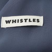 Whistles Kleid in Blau