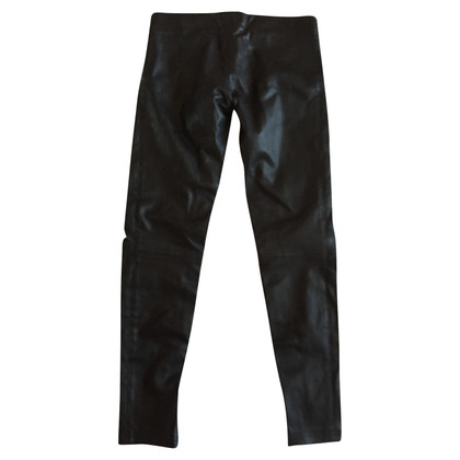 Balmain Slim Leather Pants 40 FR