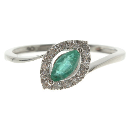 Bliss White gold ring '' Charleston ''