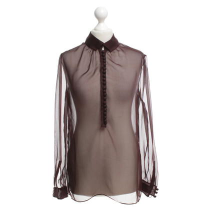 Valentino Blouse in Bordeaux