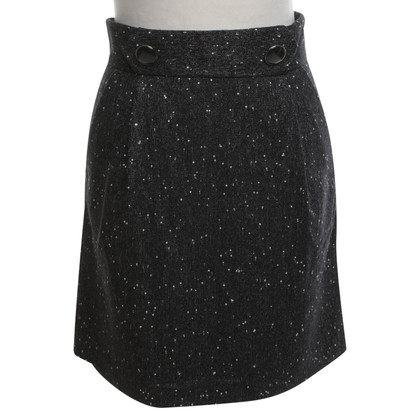 French Connection skirt with dot pattern