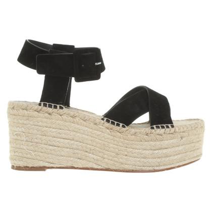 Céline Sandals with platform sole