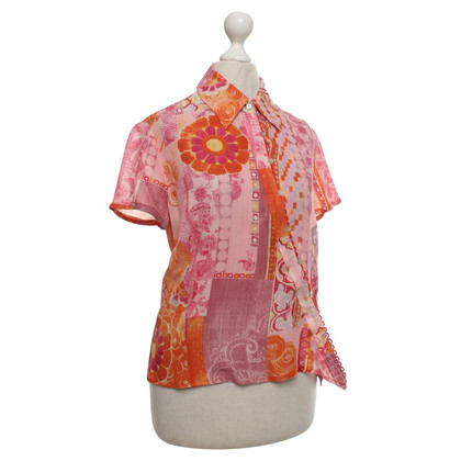 Kenzo Silk blouse with pattern