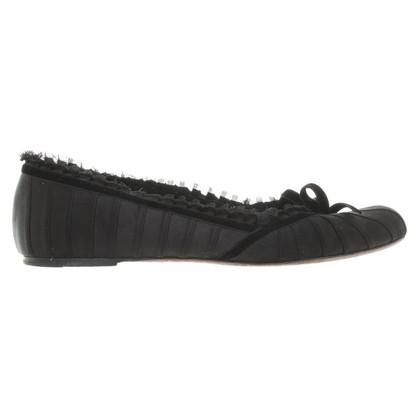 Louis Vuitton Ballerine in nero