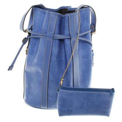 Lancel Beuteltasche in Blau