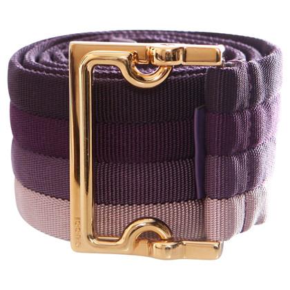 Gucci riem in violet
