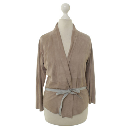 Fabiana Filippi Thin suede jacket