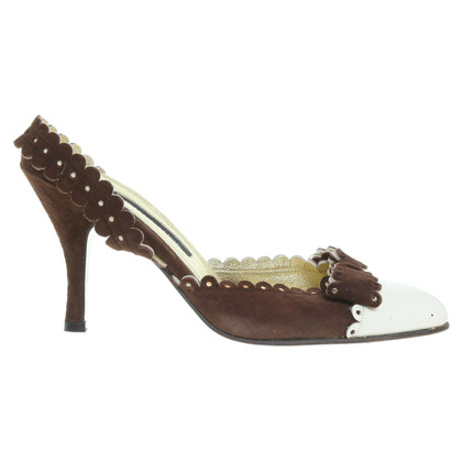 Rena Lange Pumps in Beige/Braun