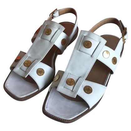 Hermès Sandalen in het wit
