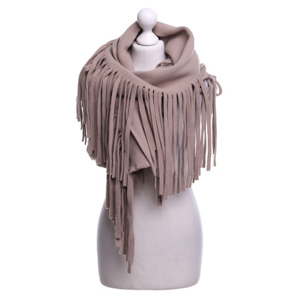 Burberry Shawl with fringes