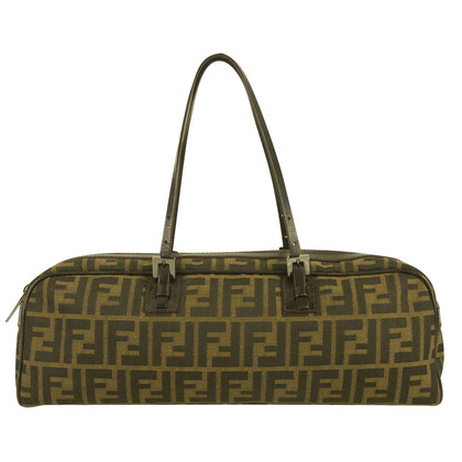 Fendi Barrel Brown tas