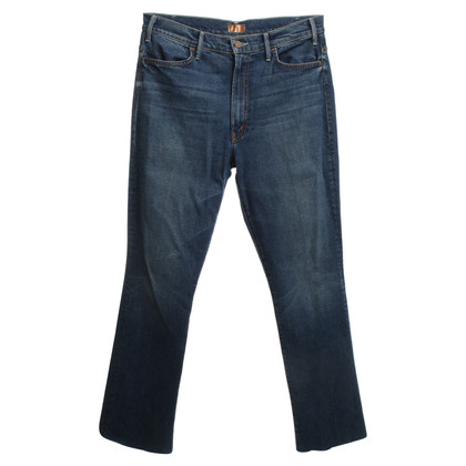 Mother Jeans in donkerblauw