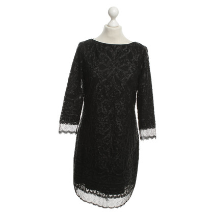 Elie Tahari Sequin Dress in Black