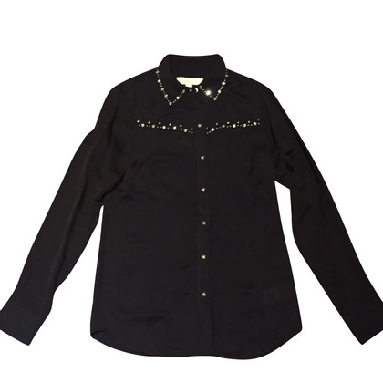 Michael Kors Silk blouse with ornament