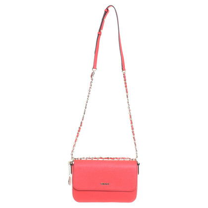 DKNY Shoulder bag in coral red
