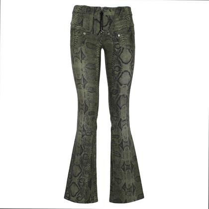 Roberto Cavalli Reptile-print pants