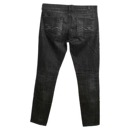 7 For All Mankind Jeans in donkergrijs